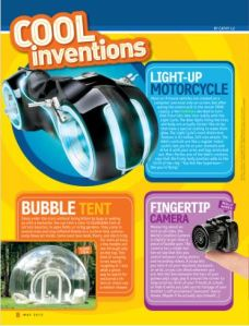 cool inventions may 2013